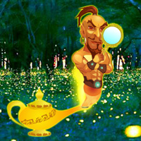 Free online flash games - Genie Fantasy Escape game - WowEscape