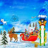 Free online flash games - Get Christmas Gift game - WowEscape