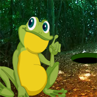 Free online flash games - Giant Frog Forest Escape game - WowEscape