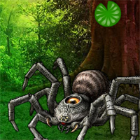 Free online flash games - Giant Spider Forest Escape
