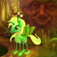 Free online flash games - Green Pegasus Fantasy Escape game - WowEscape