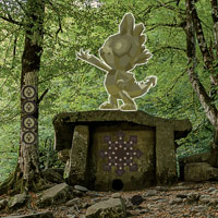 Free online flash games - Green Root Forest Escape game - WowEscape