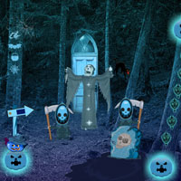 Halloween Creepy Forest Escape game info at wowescape com