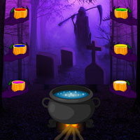 Free online flash games - Halloween Gothic Forest Escape game - WowEscape