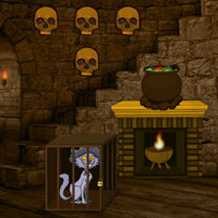 Free online flash games - Halloween Haunted Castle Escape game - WowEscape