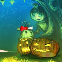 Free online flash games - Halloween Pumpkin Girl Escape game - WowEscape
