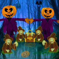 Halloween Quest Forest Escape