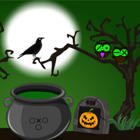 Free online flash games - Halloween Trick or Treat Escape-4 game - WowEscape