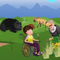 Free online flash games - Handicap Escape game - WowEscape