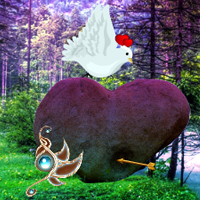 Free online flash games - Heart Forest Escape game - WowEscape