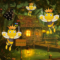 Free online flash games - Honey Bees Forest Escape game - WowEscape