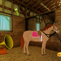 Free online flash games - Horse Barn Escape game - WowEscape