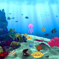 Free online flash games - Lost Fish Escape 5 game - WowEscape