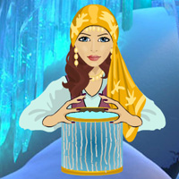 Free online flash games - Magic Ice Castle Escape game - WowEscape