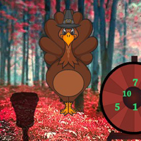 Free online html5 games - Magical Turkey Jungle Escape game