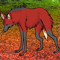 Free online flash games - Maned Wolf Escape game - WowEscape