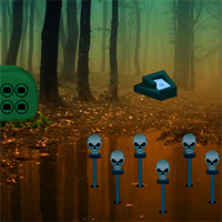 Free online flash games - Mystical Halloween Forest Escape game - WowEscape