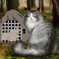 Free online flash games - Norwegian Cat Forest Escape game - WowEscape