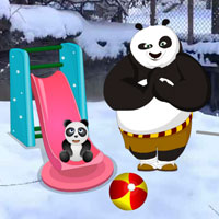 Panda Snow World Escape game - Play and Download free online flash games - at WowEscape