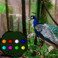 Free online flash games - Peacock Dance Forest Escape game - WowEscape