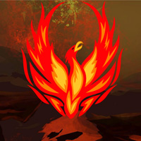 Free online flash games - Phoenix Volcano Valley Escape game - WowEscape