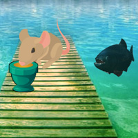 Free online flash games - Piranha Lake Escape game - WowEscape