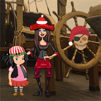 Free online flash games - Pirates New Year Escape game - WowEscape