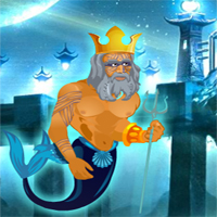 Free online flash games - Poseidon Save Underwater World game - WowEscape
