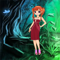 Free online flash games - Rescue Girl from Devil Forest game - WowEscape