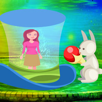 Free online flash games - Rescue Girl on Easter Day game - WowEscape