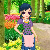Free online flash games - Rescue the Girl from Garden game - WowEscape