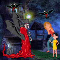 Free online flash games - Rescue the Village from Vampire game - WowEscape
