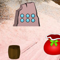 Free online html5 games - Santa Sack Snow Forest Escape game