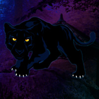 Free online flash games - Save the Black Panther game - WowEscape