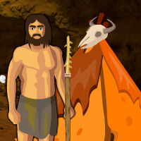 Free online flash games - Save The Caveman game - WowEscape