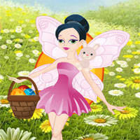Free online flash games - Save The Easter Fairy game - WowEscape