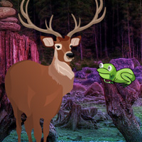 Free online flash games - Save The Elk Deer game - WowEscape
