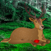 Free online flash games - Save the Wounded Deer game - WowEscape