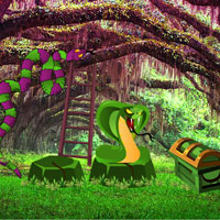 Free online flash games - Snake and Ladder Forest Escape game - WowEscape