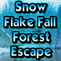 Free online flash games - Snow Flake Fall Forest Escape game - WowEscape