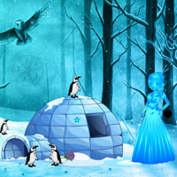 Free online flash games - Snow Queen Escape game - WowEscape