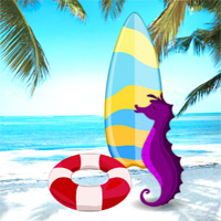 Free online flash games - Summer Tropical Beach Escape game - WowEscape