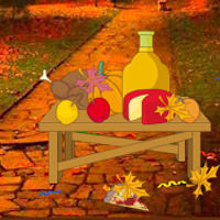 Free online flash games - Thanksgiving Night Party Escape game - WowEscape