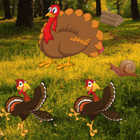 Free online flash games - Thanksgiving Wild Escape game - WowEscape
