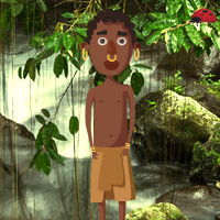 Free online flash games - Tribe Kid Escape game - WowEscape