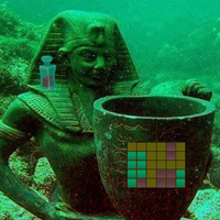 Free online flash games - Underwater Empire Treasure Escape