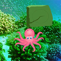 Free online flash games - Underwater Octopus Family Escape game - WowEscape