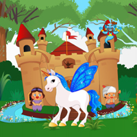 Free online flash games - Unicorn Castle Escape game - WowEscape