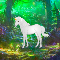 Free online flash games - Unicorn Forest Escape game - WowEscape
