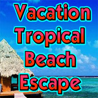 Free online flash games - Vacation Tropical Beach Escape game - WowEscape